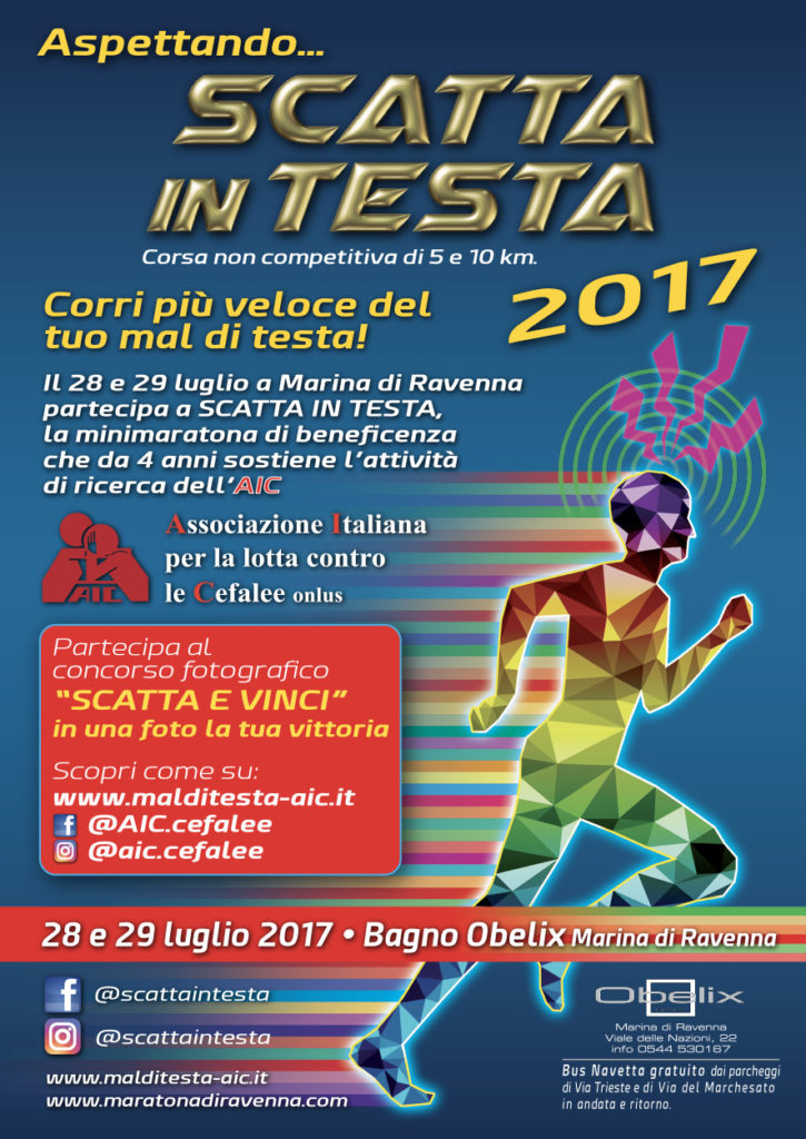 FLYER Scatta in testa 2017