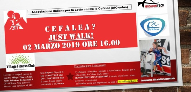 Cefalea? Just Walk!
